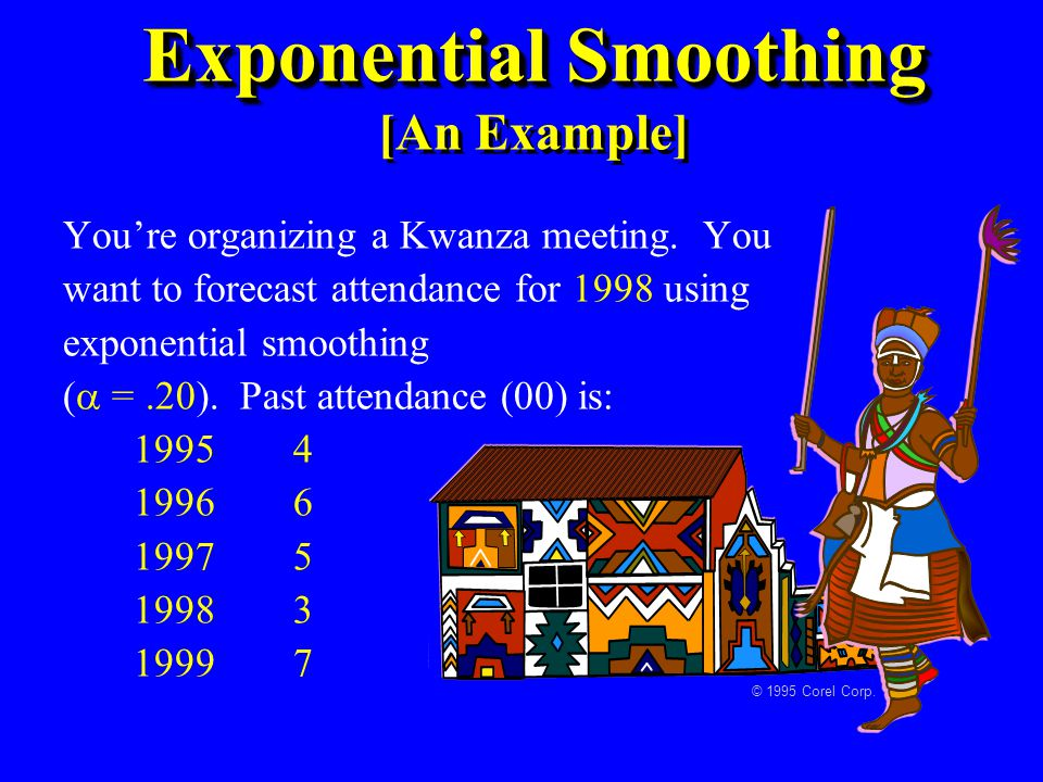 Exponential Smoothing [An Example]